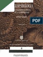 Paleopatologia. Los Primeros Vestigios de La Enfermedad. Vol. 1.- D. Campillo (1994)