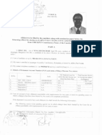 Uday Garudachar's Election Nomination Affidavit