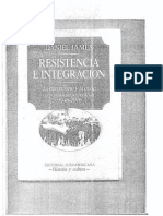 Resistencia e Integracion Daniel James