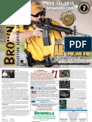 Brownells AR15 | Telescopic Sight | Firearms