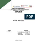 Trabajo de Sistemas Operativos II