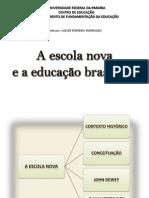 A escola nova e a educação brasileira