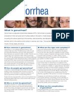 Gonorrhea Fact Sheet