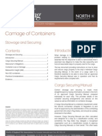 LP Briefing - Carriage of Containers - Stowage and Securing