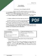 Teste de História 5. crise em portugal no seculo XIV resumos
