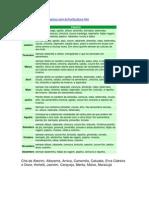 CALENDÁRIO DE PLANTIO