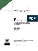 El Desarrallo Economico de America Latina en Epocas de Globalizacion