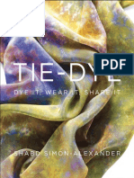 Crystalline Scarf From Tie-Dye by Shabd Simon-Alexander