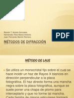 Métodos de difracción de rayos X