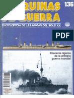 Maquinas de Guerra 136 - Cruceros Ligeros de La I Guerra Mundial