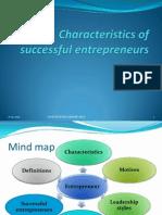 1.3.1 Characteristics of a Successful Enterpreneur