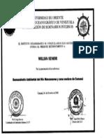 CONFERENCIA SANEAMIENTO AMBIENTAL RÍO MANZANARES Y ZONA COSTERA