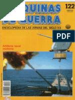 Maquinas de Guerra 122 - Artilleria Naval Moderna