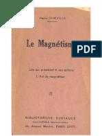 Le magnétisme. H.Durville