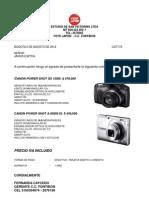 Cotizacion Canon a4000