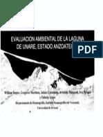 Evaluación Ambiental Laguna Unare