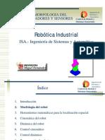 Morfologia Del Robot Actuadores y Sensores