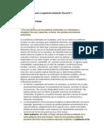 Derecho y Legislacion Ambiental Parcial 1