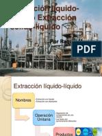 Extracción líquido-líquido y Lixiviación