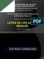 Leyes de Los Gases Ideales - Kristoper Garcia Mendo