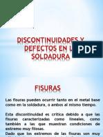 DISCONTINUIDADES Y DEFECTOS EN LA SOLDADURA P3.pptx