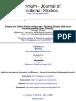 Millennium Journal of International Studies 2007 Biswas 117 33