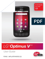 LG Optimus v User Manual VM670_UM_ENG