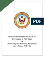 Document To PDF Conversion