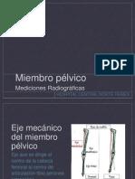 Mediciones Radiograficas Miembro Pelvico