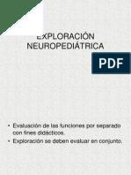 Exploracion neuropediatrica