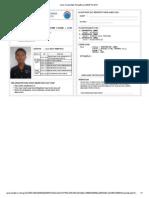 Kartu Tanda Bukti Pendaftaran SBMPTN 2013yungki
