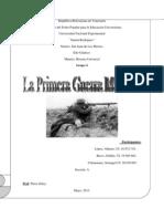 Informe de Historia u.