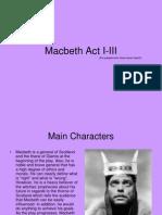 Assignment#3 Macbeth presentation