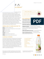 Vemma Product Fact Sheet