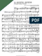 Quizas Quizas Sheetmusic Partition