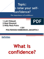 How to Raise Your Self Confidence (1)