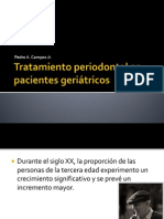 Tratamiento periodontal en pacientes geriátricos