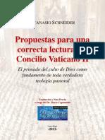 Mons. Atanasio Schneider - Propuestas para una Correcta Lectura del Concilio Vaticano II