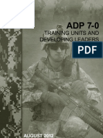 Adp 7-0 Training Units and Developing Leaders August 2012