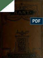 Inmanuel Kant. Biografia