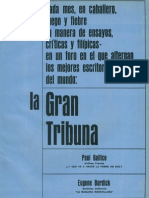 La Gran Tribuna. Caballero Junio 1966.