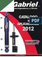 Catalogo Aplicaciones Para Camionetas Gabriel 2012