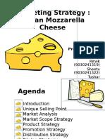 Mozzarella Cheese Marketing Strategy