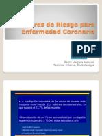 5 - Factores de Riesgo Para Enf Coronaria