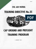 Civil Air Patrol Training Directive Number 35