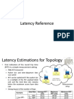 Latency Reference LTE