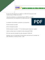 1.Ejemplo programa con encoder incremental y la función BCMP(68) para CPM1A .Ejemplo simple de un árbol de leva