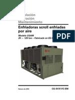 Manual en Espanol CG-SVX17C-EM