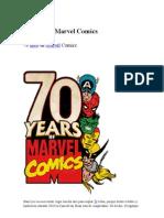70 años de Marvel Comics