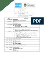 Programme Tentative GICT Day